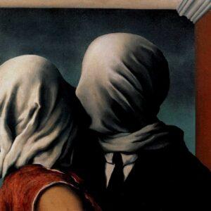 enè-Magritte-Les-Amants-Gli-amanti