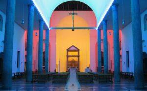 Chiesa Rossa- Dan Flavin